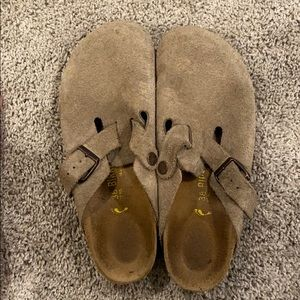Birkenstock 'Boston' clogs